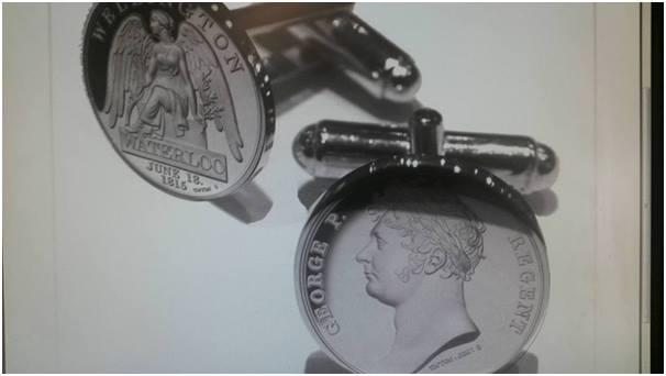 Waterloo Medal Cufflinks