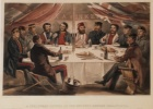 A Christmas Dinner by William Simpson